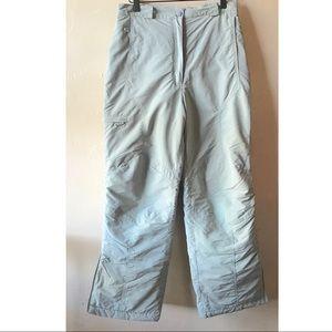 LL Bean Grey Ski Snow Pants Insulated Boy's